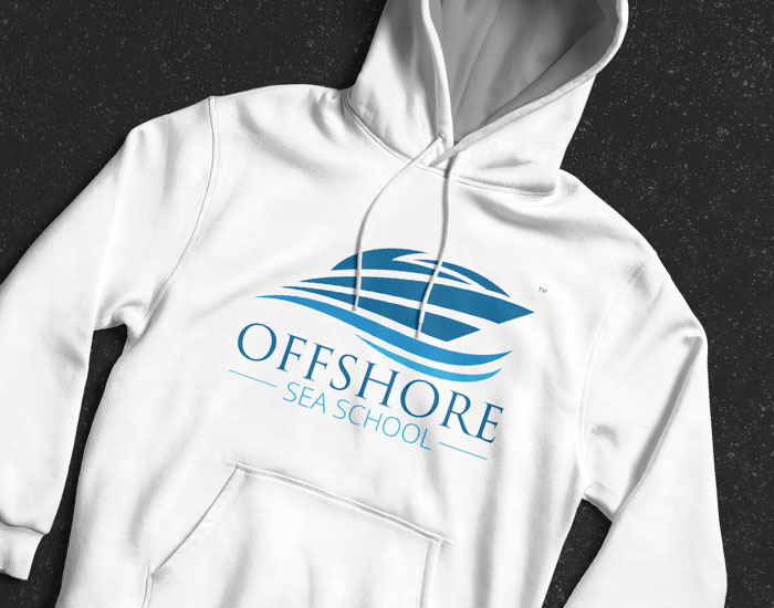 Offshore Sea School Branding